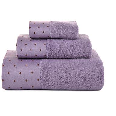 Badehandtuch Set,Polkadot Gute Qualität 100% Baumwolle Handtuch