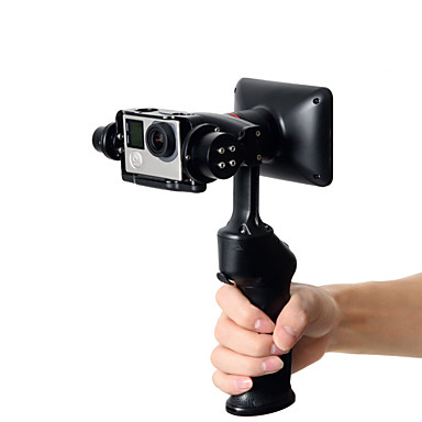 cheap Camera & Photo-Wenpod GP1 2-Axis Handheld Stabilized Gimbal for GoPro and Similar-sized Sports Action Cameras