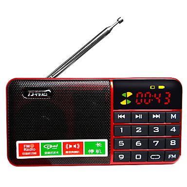 T12 FM Hordozható rádió MP3 lejátszó TF kártya