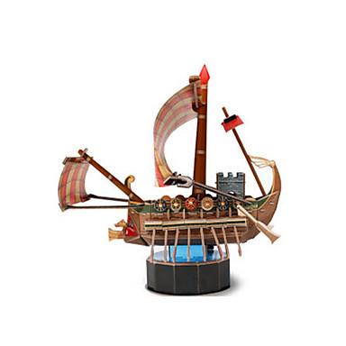 3D - Puzzle Holzpuzzle Papiermodel Schiff Pferd 3D Heimwerken Einrichtungsartikel EPS+EPU Seeräuber 6 Jahre alt und höher