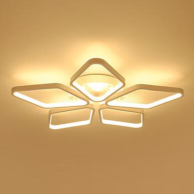 5-Light Linear Flush Mount Ambient Light - Bulb Included, Designers, 110-120V / 220-240V, Warm White / White, LED Light Source Included