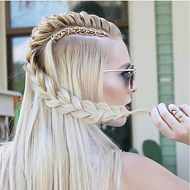 Fém Braiding Gyöngyök Wig Accessories Napi Klasszikus