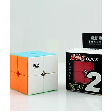 Rubik kocka QIYI 2*2*2 Sima Speed Cube Rubik-kocka Fejlesztő játék Stresszoldó Puzzle Cube Oktatás Ajándék Uniszex