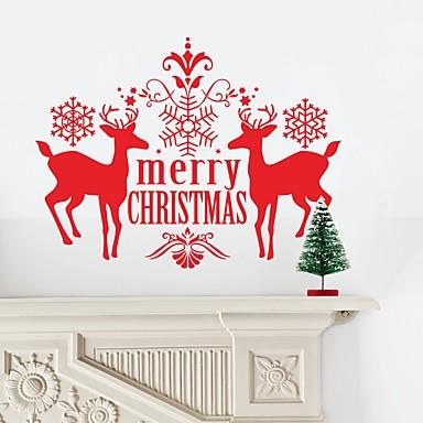 كريسماس عيد الميلاد كلمات ومصطلحات عطلة ملصقات الحائط لواصق حائط الطائرة لواصق حائط مزخرفة لواصق المرحاض مادة تصميم ديكور المنزل جدار مائي