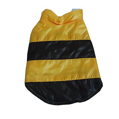 Hund Weste Hundekleidung Warm Atmungsaktiv Lässig/Alltäglich Einfarbig Schwarz Orange Gelb Blau Kostüm Für Haustiere