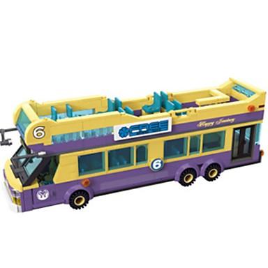 ENLIGHTEN Játékautók / Építőkockák Busz Uniszex Ajándék