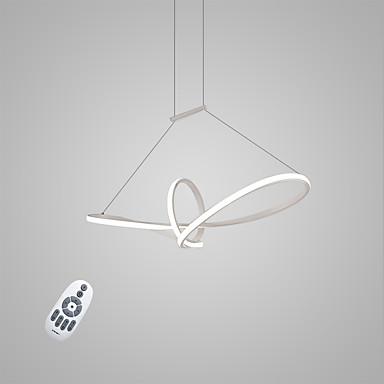 Függőlámpák Háttérfény Festett felületek Fém Matt, Az izzó tartozék, Állítható 110-120 V / 220-240 V Meleg fehér / Hideg fehér / Távirányítóval szabályozható LED fényforrás / Beépített LED