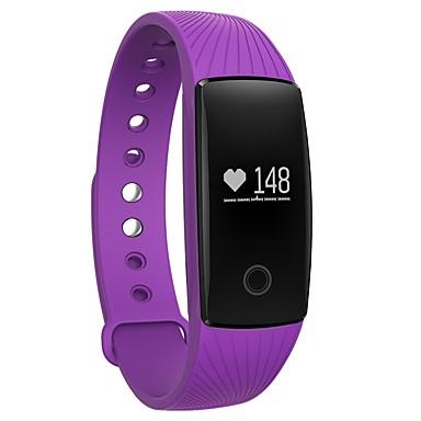 Intelligens karkötő YYV05C mert iOS / Android / iPhone Szívritmus monitorizálás / Elégetett kalória / Hosszú készenléti idő / Érintőképernyő / Vízálló Pulse Tracker / Lépésszámláló / Hívás