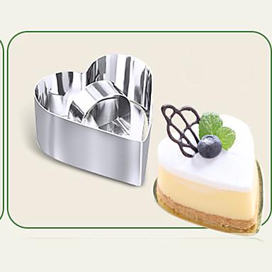 süteményformákba Újdonság Mindennapokra Rozsamentes acél + A ragú ABS