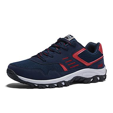 Herren Schuhe PU Sommer Herbst Neuheit Sneakers Für Normal Schwarz Grau Rot Blau
