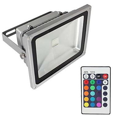 1db 20 W LED projektorok / Lawn Lights Vízálló / Tompítható / Dekoratív RGB 85-265 V Kültéri világítás 1 LED gyöngyök