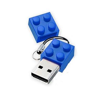 speelgoed bakstenen cartoon 1 gb usb disk usb 2.0 flash pen drive