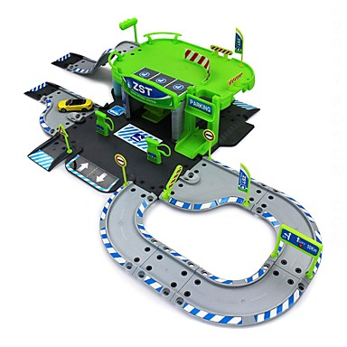 Játékautók / Garázs és pakoló szett / Fejlesztő játék Versenyautó Autó tettetés Műanyagok Fiú Gyermek Ajándék 1pcs