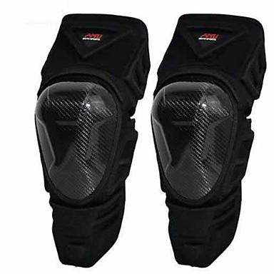 Amu p22 Motorrad Knie Hartmetall Faser Rugby Rennen Cross Country Ritter fallen Windschutz Leggings zweiteilig schwarz