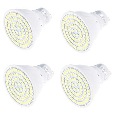 4db 4W 320lm GU10 LED szpotlámpák MR16 80 LED gyöngyök SMD 2835 Dekoratív Meleg fehér / Hideg fehér 220V