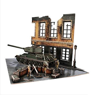 3D építőjátékok Fejtörő Tank DIY EPS Papír Fiú Ajándék