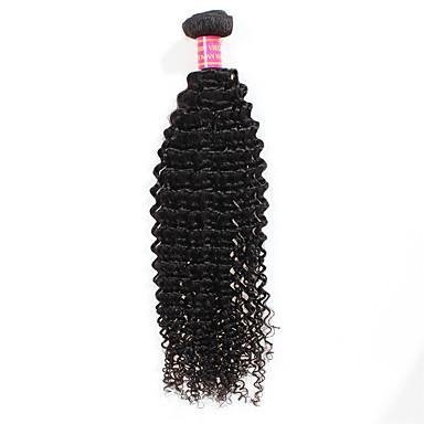 Brazil haj Göndör Kinky Curly Emberi haj sző 1 Az emberi haj sző