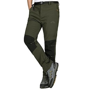 Men's Hiking Pants Outdoor Waterproof, Windproof, Ultraviolet Resistant Autumn / Fall / Winter Pants / Trousers Hunting / Ski / Snowboard