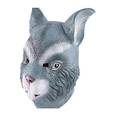 Halloween-Masken Tiermaske Rabbit Zum Gruseln Latex Kleben Gummi Stücke Unisex Erwachsene Geschenk