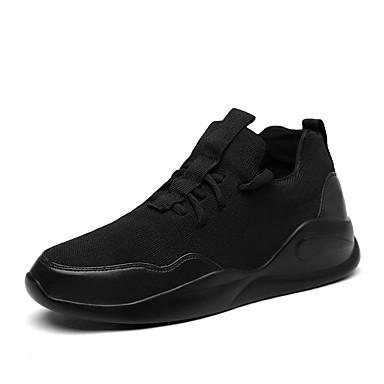 للرجال أحذية تول ربيع / صيف / خريف مريح أحذية رياضية المشي رمادي / أحمر / أسود وأبيض