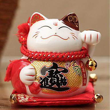 Diy autóipari díszek szerencsés macska ajándék autó medál&Kerámia dísztárgyakat