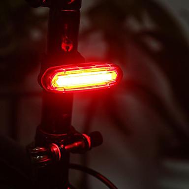 luces de extremo de barra / Luz Trasera para Bicicleta / luces de seguridad LED - Ciclismo Impermeable, Recargable, Tamaño Pequeño Batería de litio 50 lm Batería Camping / Senderismo / Cuevas / De