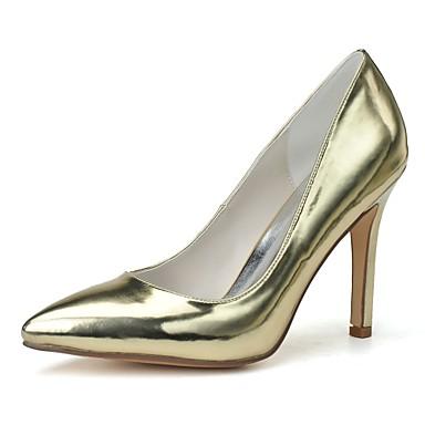 Mujer Zapatos Purpurina Primavera / Verano Zapatos formales Tacones Tacón Stiletto Dedo Puntiagudo Dorado / Plata / Vestido Forfait De Compte À Rebours 98IRwxAM