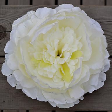 1 Ast Kunststoff Pfingstrosen Pflanzen Tisch-Blumen Künstliche Blumen