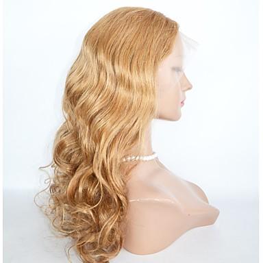 Szintetikus csipke front parókák Hullámos haj Szintetikus haj Természetes hajszálvonal Paróka Hosszú Természetes paróka Csipke eleje