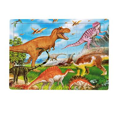 Holzpuzzle Steckpuzzles Dinosaurier Frucht Spaß Klassisch 6 Jahre alt und höher