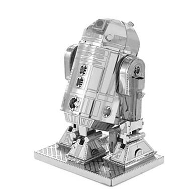 3D - Puzzle Holzpuzzle Metallpuzzle Quadratisch 3D Heimwerken Edelstahl Metal 6 Jahre alt und höher