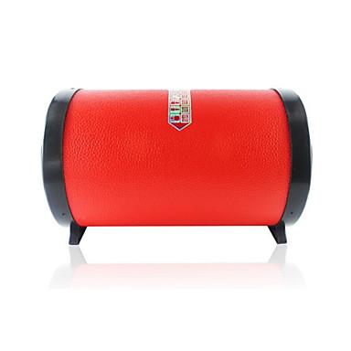 Super Bass Bluetooth 2.1 RCA 3,5 mm AUX USB HDMI Trådløse Bluetooth-høyttalere Rød