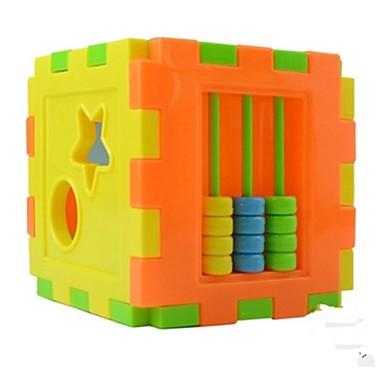 Építőkockák 3D építőjátékok Fejlesztő játék Derékszögű Szeretetreméltő Uniszex Játékok Ajándék