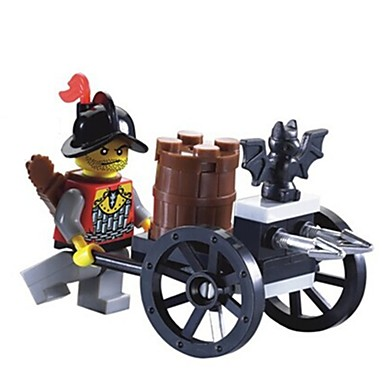 Bausteine Minifiguren aus Blockbausteinen Spielzeugautos Spielzeuge Streitwagen Stücke Unisex Geschenk