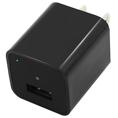 1080p 8 gb belső memória mini kamera usb fali töltő adapter hurok felvétel