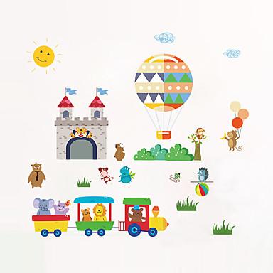 Dekoratív falmatricák - Repülőgép matricák Landscape / Állatok / Divat Nappali szoba / Hálószoba / Fürdőszoba