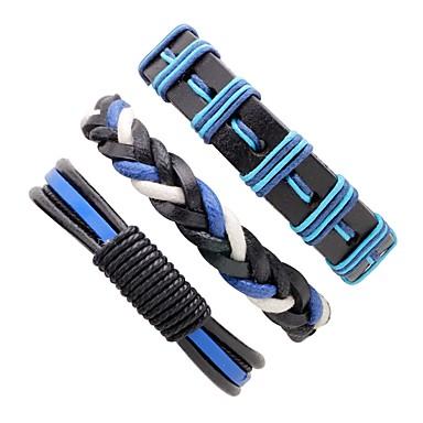 Herr Läder Armband - Läder Personlig 8019ac8d79c46