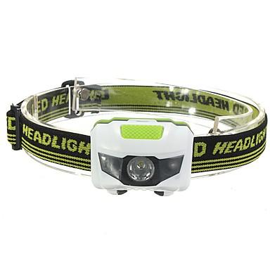 billige Lommelykter & campinglykter-Hodelykter LED LED emittere 500 lm 3 lys tilstand Alarm Støvtett Lettvekt Camping / Vandring / Grotte Udforskning Dagligdags Brug Sykling