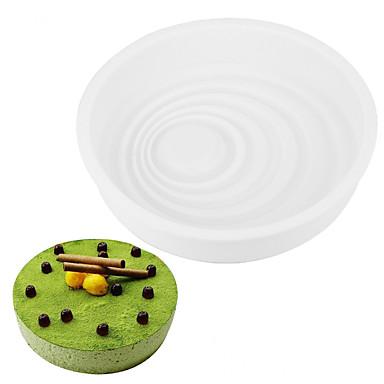 1 Stück Kuchenformen runden täglichen Gebrauch Kieselgel-Backwerkzeug diy 3d Hochzeit Geburtstag Valentinstag