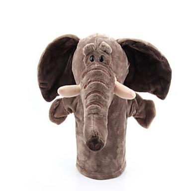 Ujjbáb Elefánt Kacsa Ló Oroszlán Juh Zebra Majom Állatok Szeretetreméltő Pamut anyag Felnőttek Ajándék