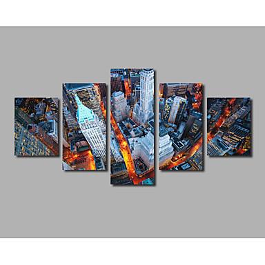 Leinwanddruck Abstrakt,Fünf Panele Leinwand Horizontal Druck Wand Dekoration For Haus Dekoration