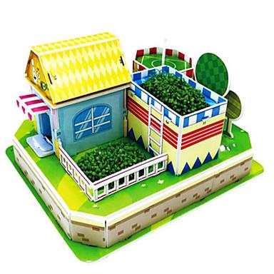 3D építőjátékok Fejtörő Építőjátékok Népszerű épület Ház Fa Uniszex Ajándék