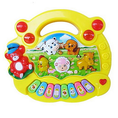 Toy Musical Instrument Square Piano Musical Instruments Animal Animals Unisex