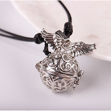 Men's / Women's Pendant Necklace - Wings Hip-Hop Silver Necklace For Daily, Street