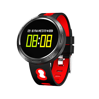 Smartwatch X9 VO for iOS / Android Heart Rate Monitor / Blood Pressure Measurement / Calories Burned / Touch Screen / Water Resistant / Water Proof Mood Tracker / Pedometer / Remote Control / Fitness