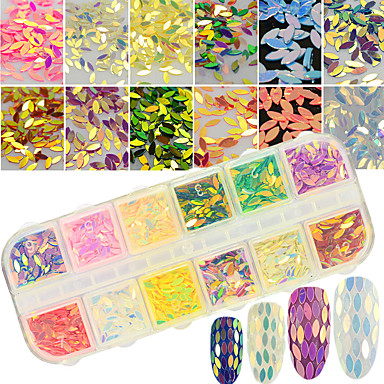 1 pcs Glitter Powder Nail DIY Tools Nail Jewelry Lovely / 3D nail art Manicure Pedicure Daily Artistic / Fashionable Jewelry / Luxury / Shimmering