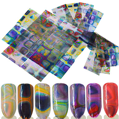 16 pcs 3D Nail Stickers Nail DIY Tools Stickers nail art Manicure Pedicure 3D Fashion Daily