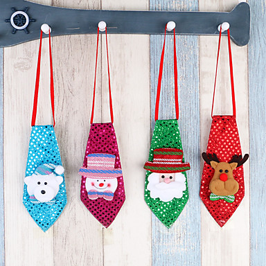 Holiday Decorations Snowmen / Santa / Holiday Storage Bag / Ornaments Holiday 1pc / Christmas