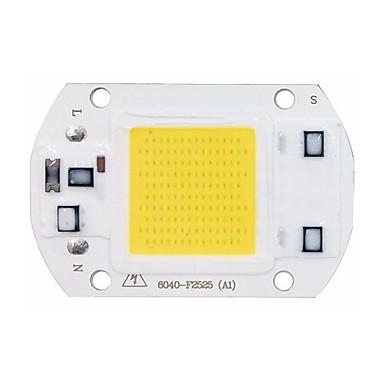 1pç COB 220-240V Luminoso Chip LED Alumínio para o diodo emissor de luz holofote da luz de inundação de DIY 30W