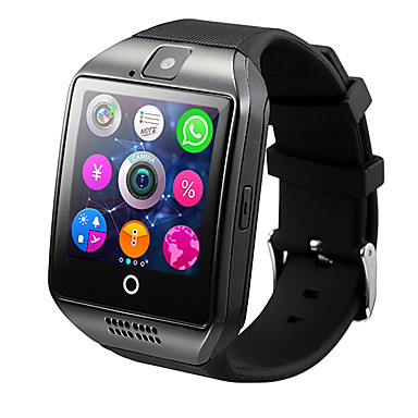 cheap Smartwatches-Smartwatch Q18 for Android iOS Bluetooth Heart Rate Monitor Waterproof Sports Calories Burned Camera Timer Pedometers Alarm Clock